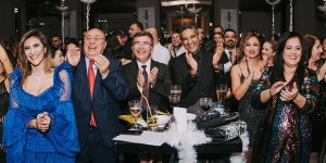 Creditwest Bank çalışanları yeni yılı Emre Altuğ ile kutladı