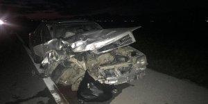Lefkoşa-Mağusa Anayolu'nda kaza