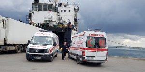 Mağusa Limanında mülteci operasyonu...