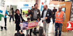 Ercan Havalimanı'nda 4 milyonuncu yolcu