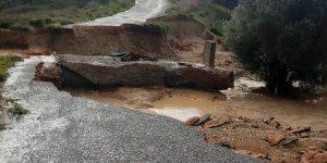 Karpaz'da  bazı yollar trafiğe kapalı