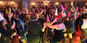 Lefkoşa'da yeni yıl eğlencesi