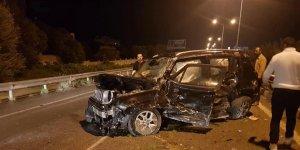 Girne-Lefkoşa Anayolu'nda kaza