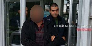 Ercan'dan çıkış yapmak isterken yakalandı