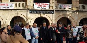 Girne Kaza Mahkemesi'nde grev