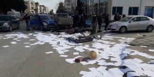 Lefkoşa'da kaza: 2 yaralı