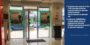 Bankalarda güvenlik zaafı