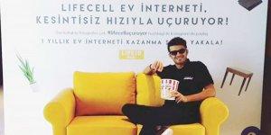 1 Yıllık Ücretsiz Lifecell Digital Ev İnternetiKazandılar