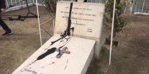 Grivas'ın mezarı saldırıya uğradı