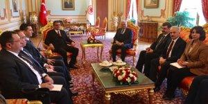 Erhürman, Ankara ziyaretine TBMM ile başladı