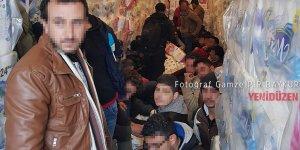 TIR dorsesinden trajedi çıktı: 33 mülteci