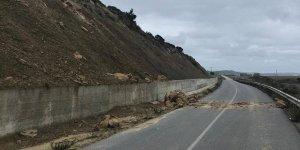 Ardahan - Kantara yolu trafiğe kapatıldı açıldı