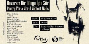 Kıbrıslı şairlerden 'Duvarsız Bir Dünya İçin Şiir' dinletisi