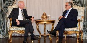 Akıncı, Almanya'nın Lefkoşa Büyükelçisi Kremp ile görüştü