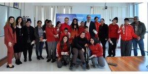 Yeşilyurt Özel Eğitim Merkezi Öğrencilerinden Harmancı'ya ziyaret