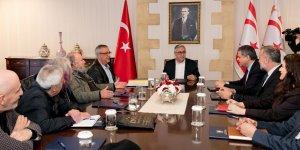 Akıncı, Kültür Teknik Komitesi'ndne bilgi aldı