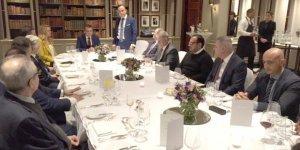 Başbakan Erhürman İngiltere'deki iş insanlarıyla bir araya geldi