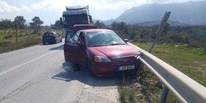Dağyolu'nda kaza