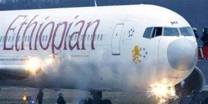 Etiyopya yolcu uçağı düştü