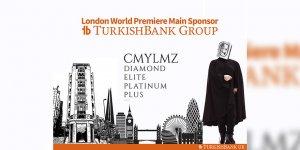 Turkish Bank Group sponsorluğunda  'CMYLZ Diamond Elite Platinum Plus' Londra'da sahne aldı