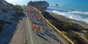 3,500 kişi Baf sahilinde koşacak