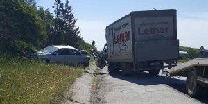 Lefkoşa-Girne anayolunda kaza