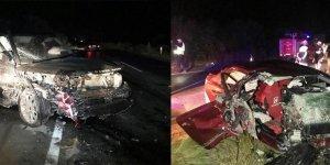 Korkunç kaza: 2 ölü