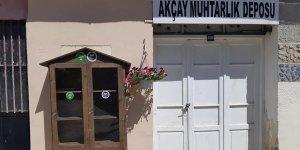 Akçay'a 'Sokak Kütüphanesi' kuruldu