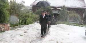 """""""Haspolat'ta 3,Taşkent'te birkaç ev ciddi zarar gördü"""""""
