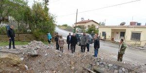 Akıncı, sel felaketi bölgelerini gezdi