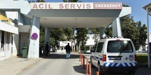 Lefkoşa'da kaza: Polis memuru yaralı