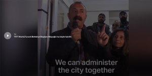 "TRT World'den ""Komünist Başkan"" videosu"