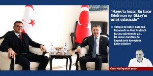 """""""Mayıs'ta imza:  Bu karar Erhürman ve  Oktay'ın ortak uzlaşısıdır"""""""