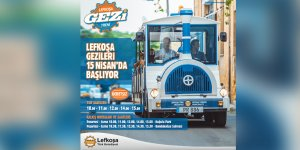 Lefkoşa Gezi Treni Turları 15 Nisan'da başlıyor