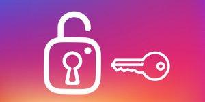 Instagram şifrenizi yenileyin