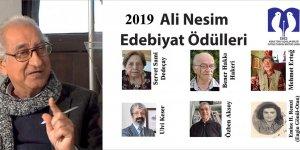 """""""Ali Nesim Edebiyat Ödülleri""""nin sahipleri belirlendi"""