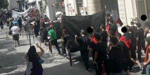 Limasol'da anti-faşistyürüyüşgerçekleştirildi