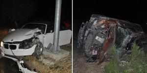 Aşırı sürat kaza getirdi: 4 yaralı