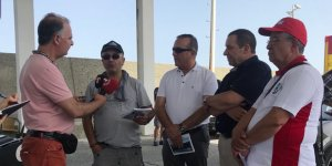 Avrupa Orient Doğu-Batı Dostluk Rallisi  Kıbrıs'ın kuzeyinde yapılıyor