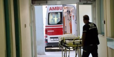 Girne'de iş kazası: 1 ağır yaralı