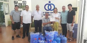 Mağusa'dan mavi kapak kampanyasına destek
