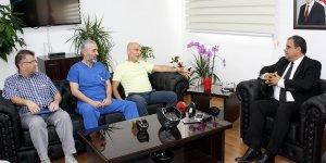 Sucuoğlu, projeler için Türkiye'yi işaret etti