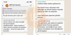 UBP'de sular durulmuyor… Şimdi de parti içi yazışmalar sızdırıldı