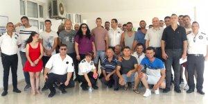 DAÜ'de güvenlik işçileri örgütleniyor
