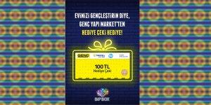 """""""BiPBOX'u takip et Genç Yapı Market'ten hediye çeki kazan"""""""
