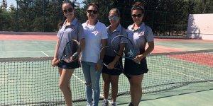 YDÜ Tenisçileri Tenis Şampiyonası'nda