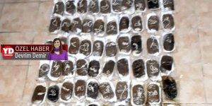 Kıbrıs polisi 100 kilo uyuşturucu ele geçirdi