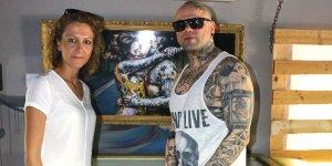 Dövme (tattoo) artık bir sanat