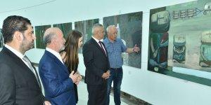 Kazakistanlı sanatçılar sergisi açıldı