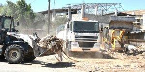 Sanayi Bölgesi'nde temizlik operasyonu